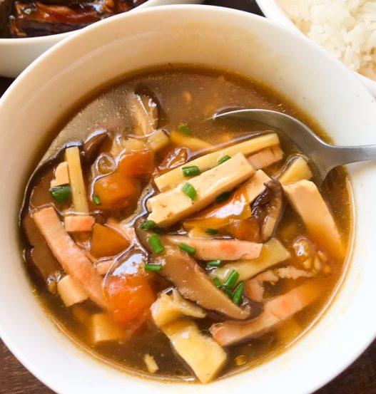 10-Minute Hot & Sour Soup