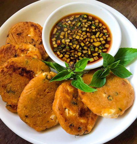 Vegan Thai Fish Cakes Okara Tod Mun