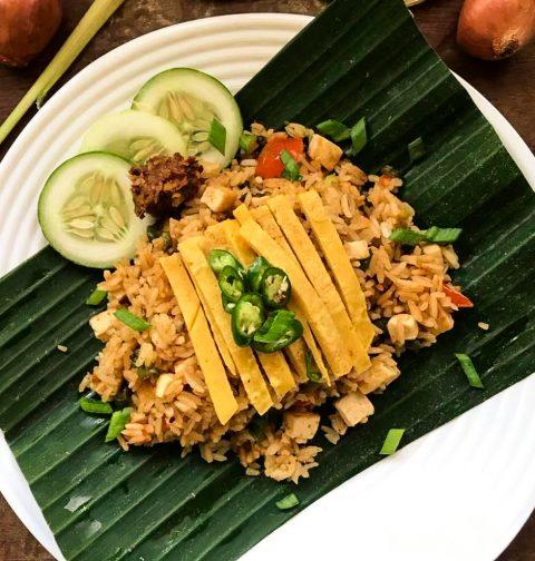 Nasi Goreng Tofu Indonesian Fried Rice