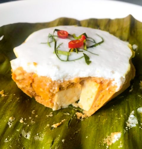 Steamed Tofu Fish Custard (Hor Mok)