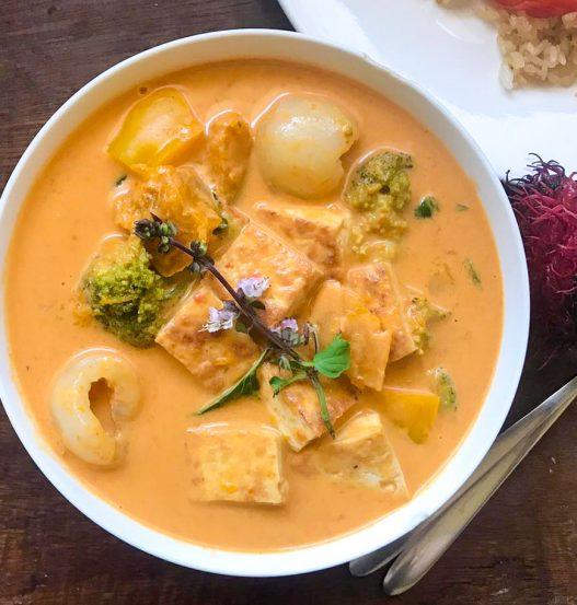 Thai Red Curry (Kang Phet) with Rambutan