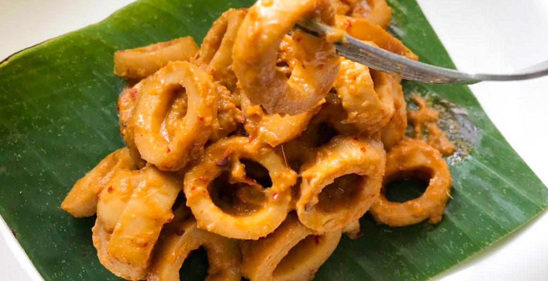Vegan Sambal Sotong (Chilli Squid)