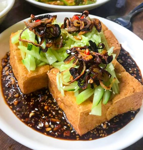 Tahu Goreng (Indonesian Deep Fried Tofu)
