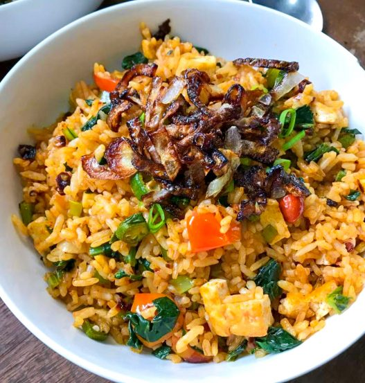 Lao Gan Ma Fried Rice (老干妈炒饭)