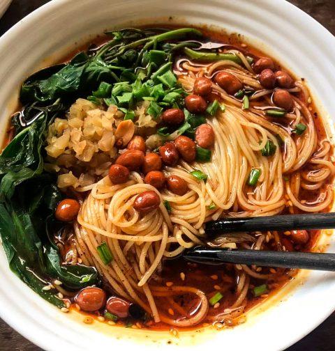 Chongqing Xiaomian Noodle 重庆小面