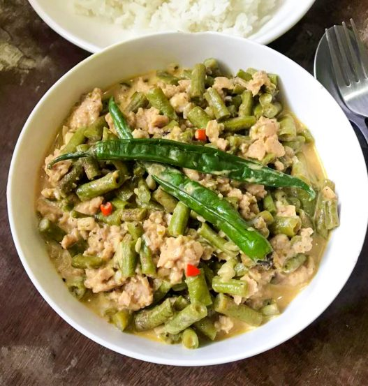 Gising-Gising Spicy Beans with Mince