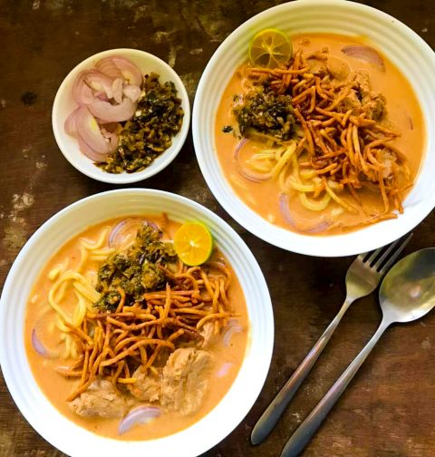 Vegan Khao Soi Northern Curry Noodle
