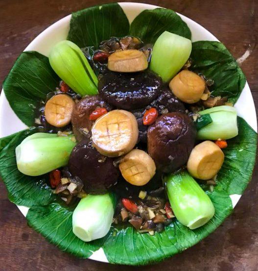 Vegan Braised Mushroom Abalone & Scallops
