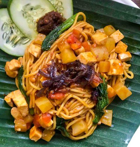 Vegan Mee Goreng Fried Noodle Malaysian Indonesian