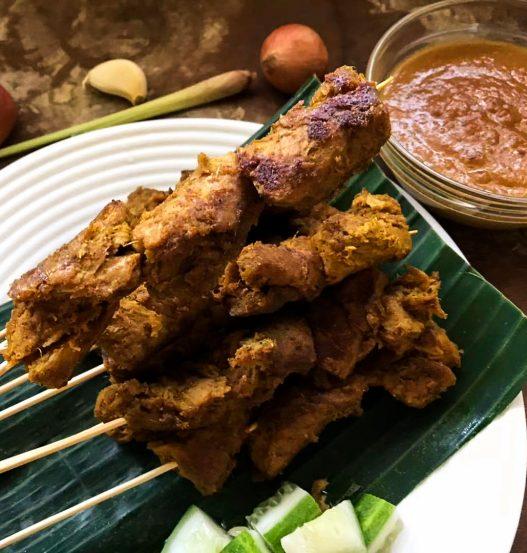 Vegan Satay Authentic Singapore Recipe