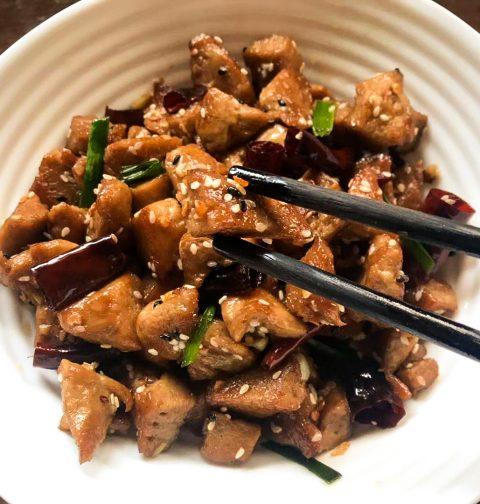 Sichuan Chilli Chicken 辣子鸡