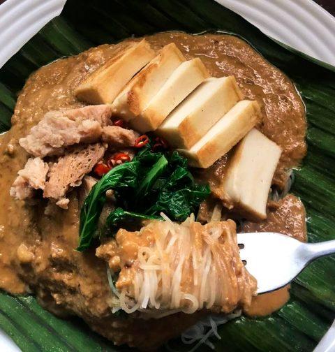 Vegan Satay Bee Hoon 沙嗲米粉