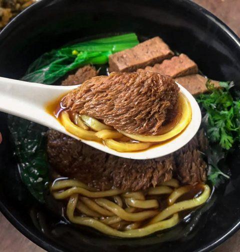 "Braised ""Beef"" Noodles (红烧素牛肉面)"