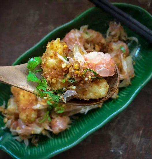 Vegan Yum Som-o Thai Pomelo Salad