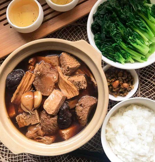 Vegan Bak Kut Teh 素肉骨茶