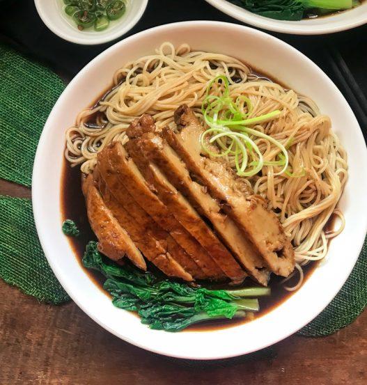 Vegan Braised DIY Seitan Duck Noodles