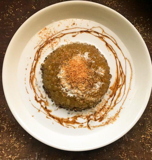 Sago Pudding Tapioca Pearl Dessert