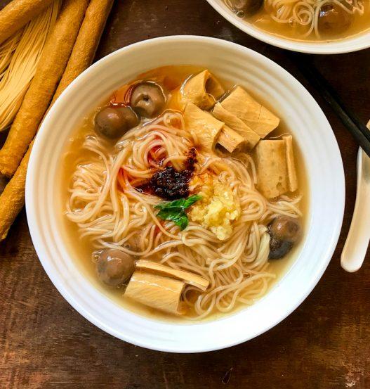 Vegan Or Ah Mee Sua 素蚵仔面线 Taiwanese Oyster Vermicelli