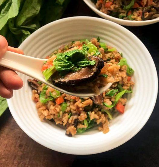 Mustard Rice / Gua Cai Perng 芥菜饭