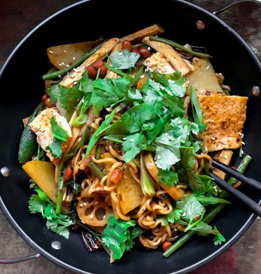 Vegan Mala Xiang Guo MLXG 麻辣香锅 Spicy Pot