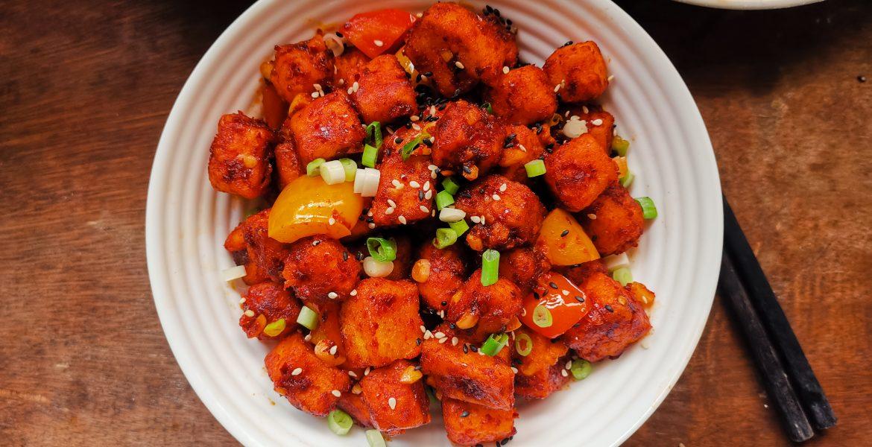Gochugaru Tofu | Crispy, Tangy & Super Addictive!